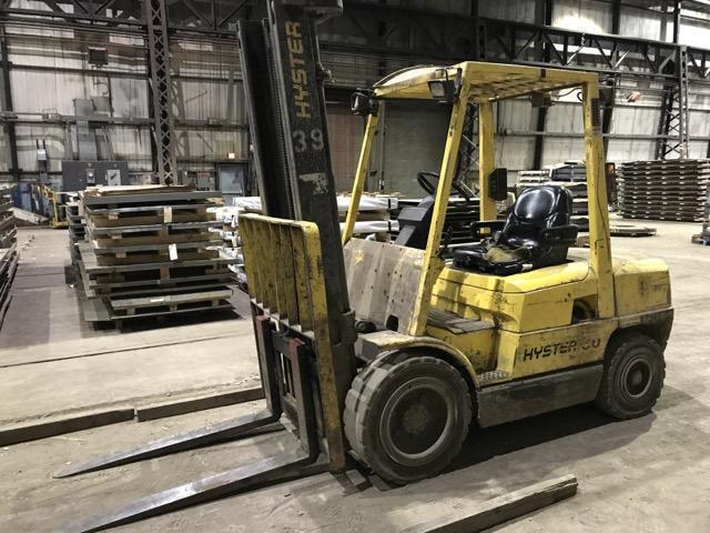 6,500# Hyster Diesel Lift Truck