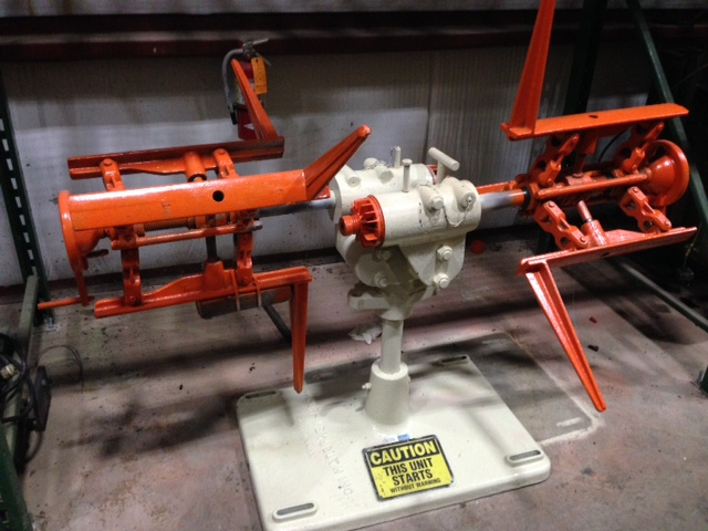 "1200 LB x 20"" Cooper Weymouth Peterson Double End Uncoiler Non-Motorized"