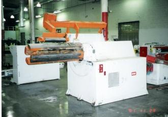 "30,000 lb x 57"" Rowe Uncoiler Motorized"