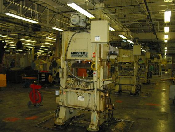 30 Ton Minster Hummingbird High Speed Straight Side Press