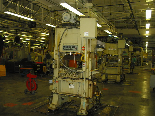 30 Ton Minster Hummingbird High Speed Straight Side Press