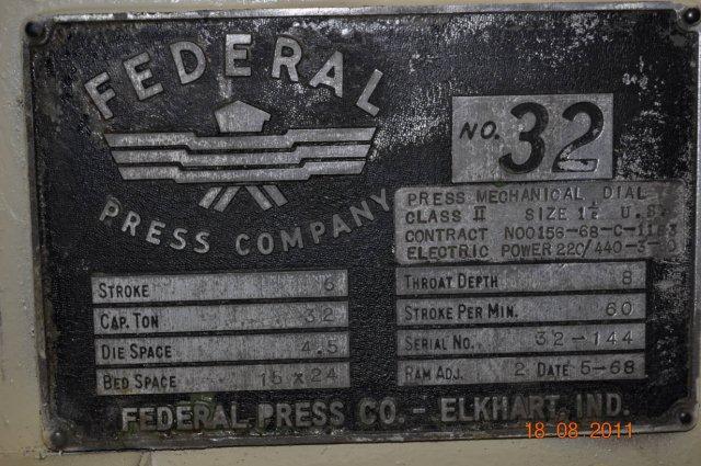 32 Ton Federal OBI Press