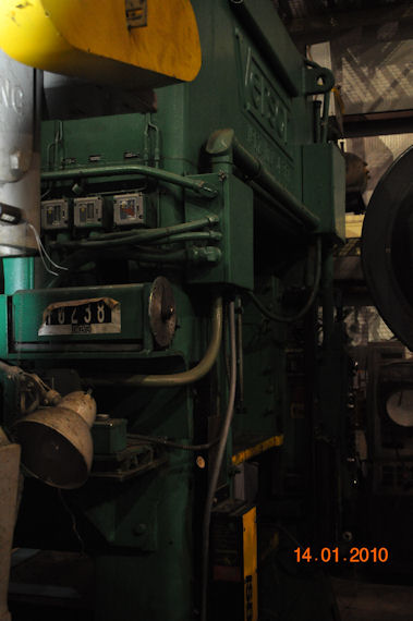 100 Ton Verson SSDC Press