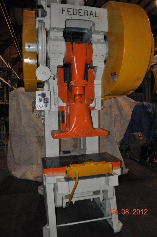 125 Ton Federal OBI Press