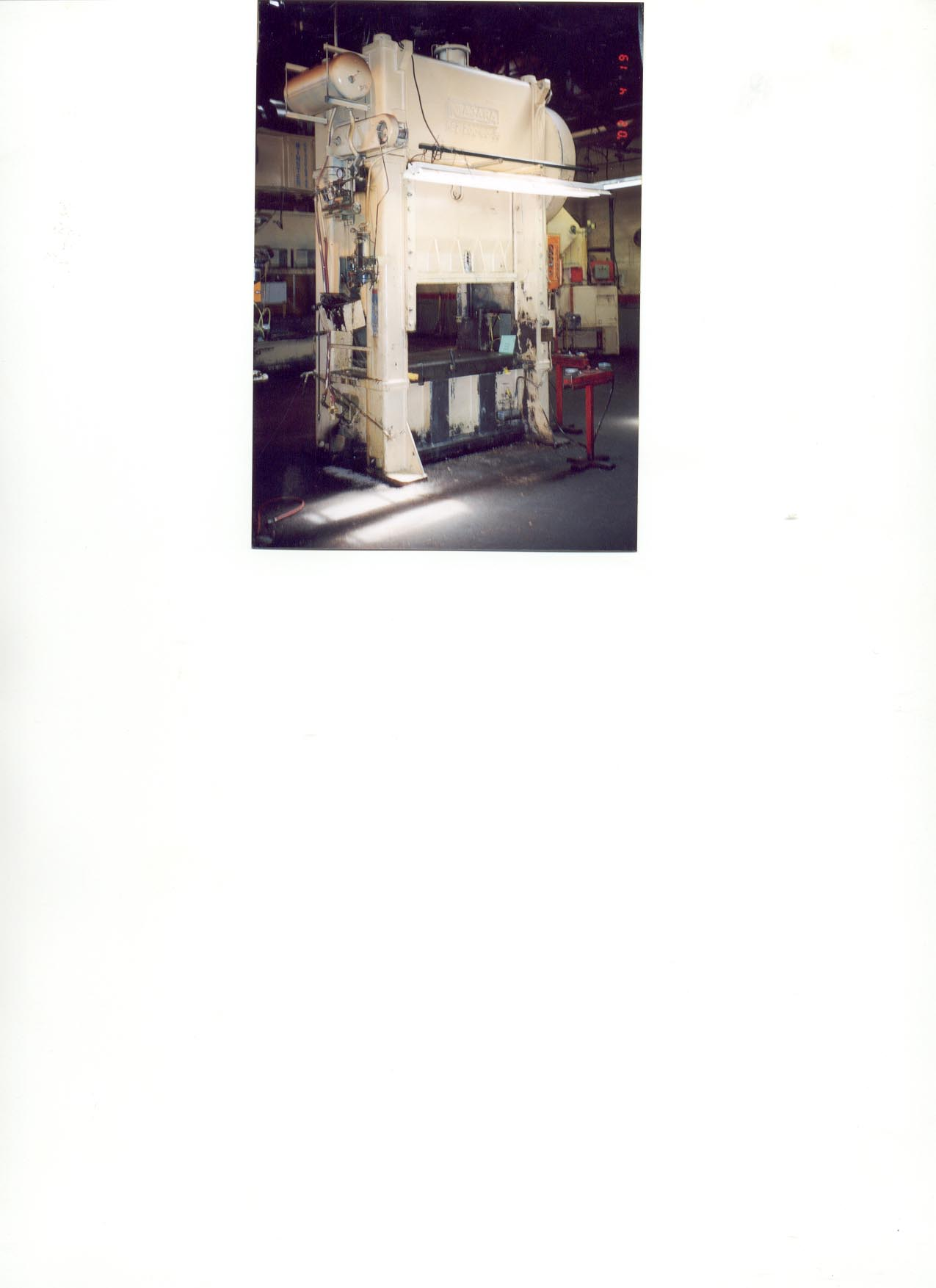 200 Ton Niagara SSDC Press