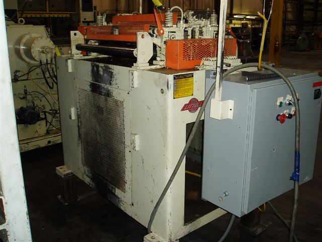 "30"" x .012"" Littell Stock Straightener"
