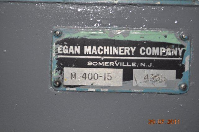 "4000 lb x 18"" Egan Uncoiler Motorized"