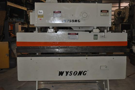 25 Ton Wysong Mechanical Press Brake
