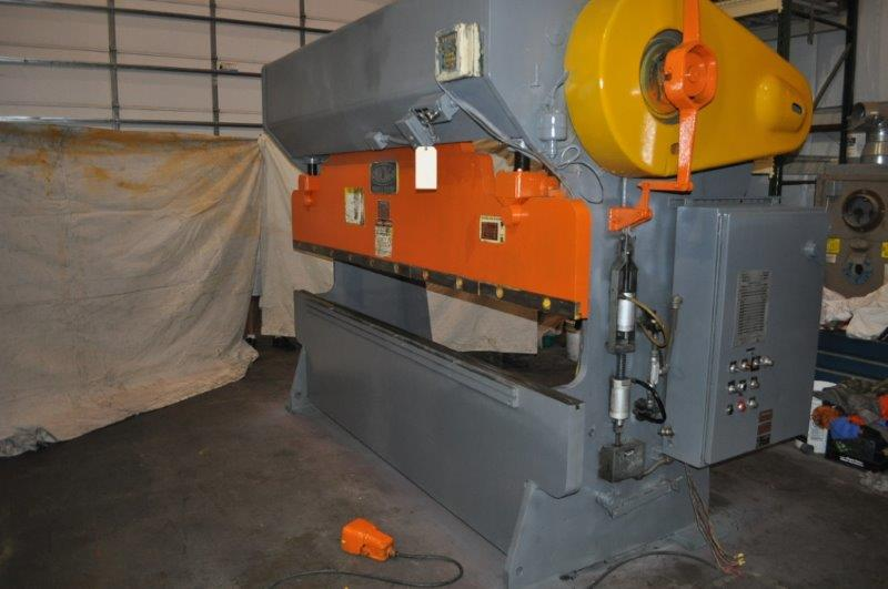 90 Ton D & K Mechanical Press Brake