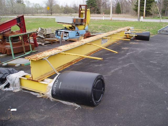 7.5 Ton x 28' DeMag Bridge Crane