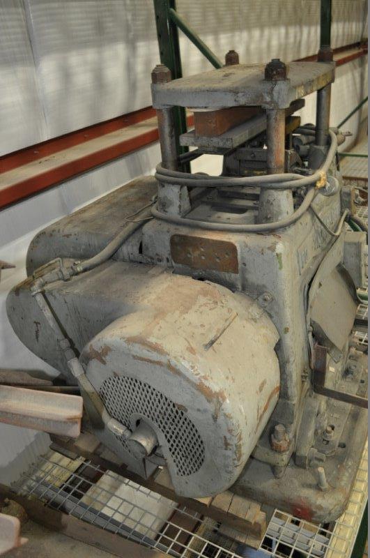 18 Ton Tishken 4-Post Cut Off Press