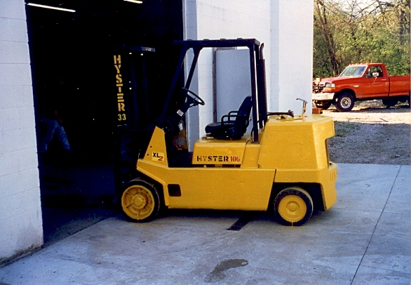 10,000 Lb Hyster Forklift