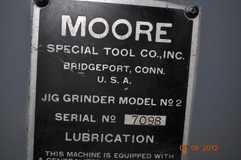 No. 2 Moore Jig Grinder