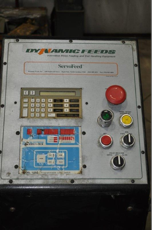 "6"" x .187 DYNAMIC FEED WIRE SERVO FEEDER"