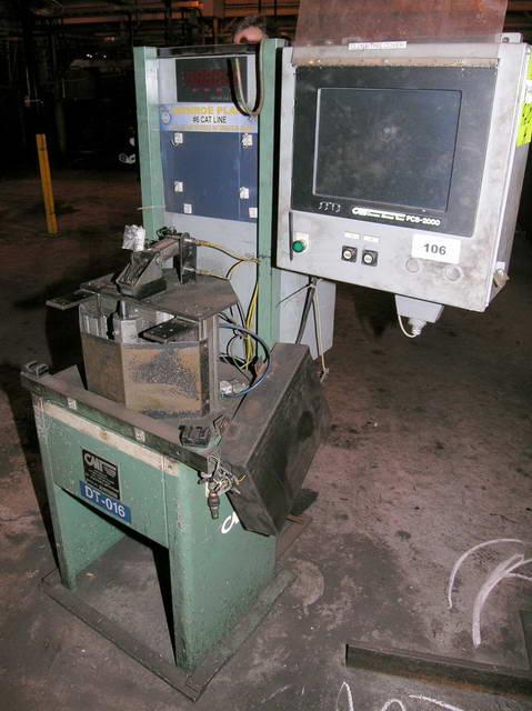 COLUMBIA MARKING TOOLS MODEL DPS-60 DOT PEEN/SCRIBE TYPE MARKING MACHINE