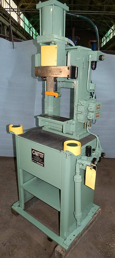 MODEL 860 COLUMBIA MARKING TOOLS ROLL STAMP MARKING MACHINE