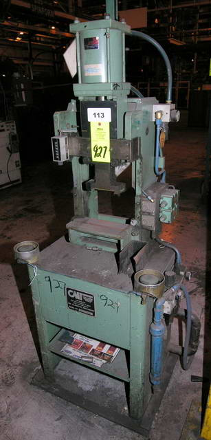MODEL 860 COLUMBIA MARKING TOOLS ROLL STAMP MARKING MACHINE