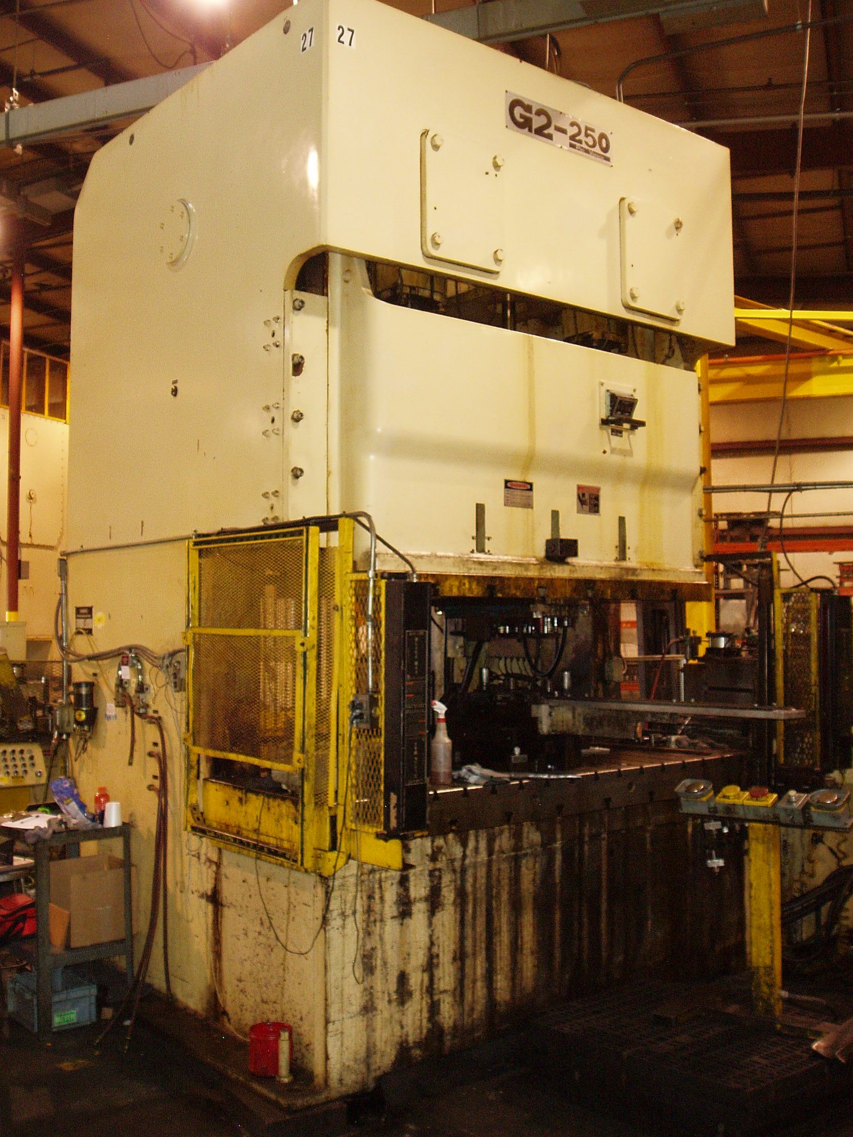 275 Ton Stamtec Double Crank Gap Press