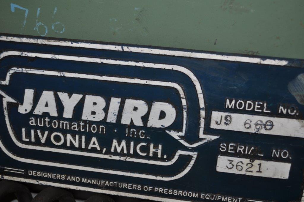 """30"""" x 60"""" x .060 Jaybird Air Feeder Straightener"""