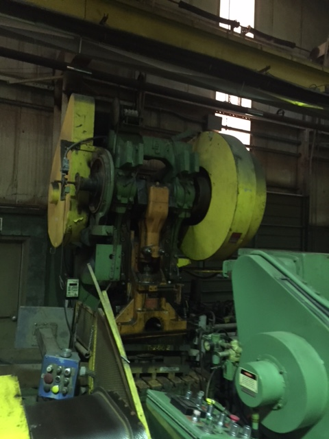 100 TON L & J OBI PRESS