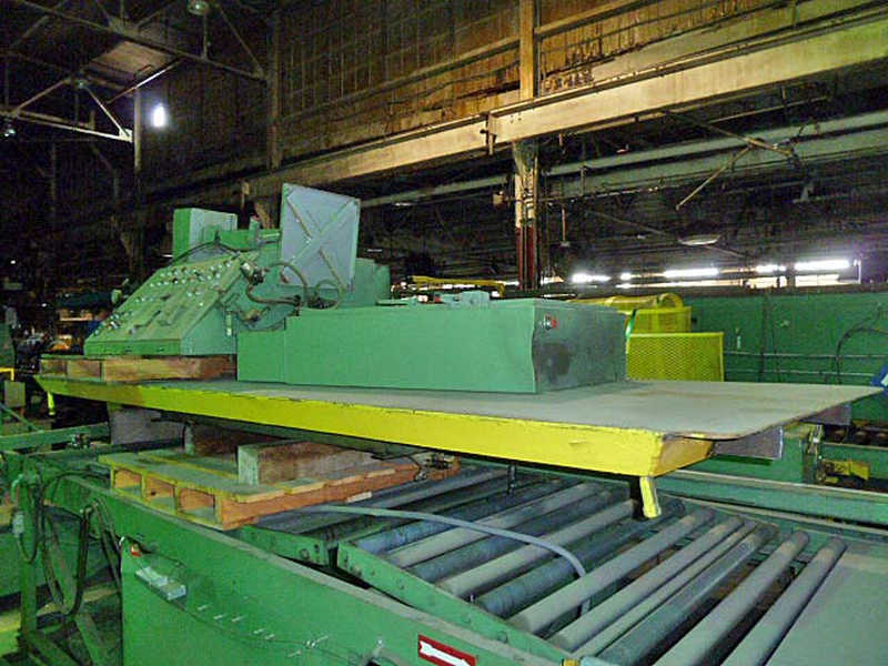 "20,000 LB x 48"" x .075 ROWE CUT TO LENGTH LINE"