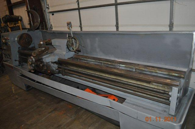 "17"" X 120"" CLAUSING COLCHESTER ENGINE LATHE"