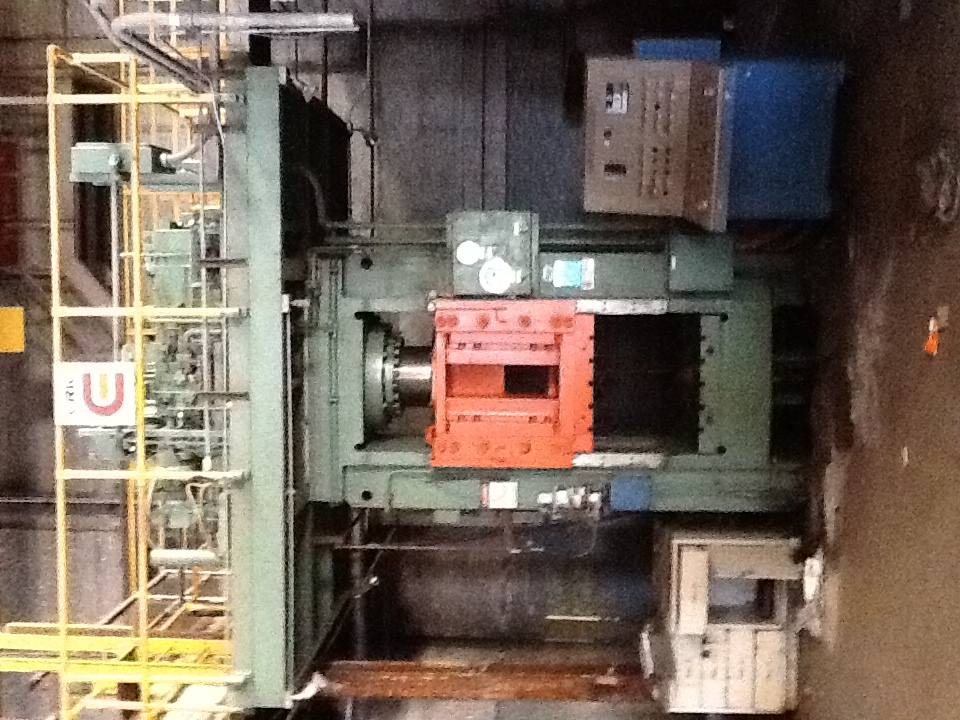 500 TON ERIE HYDRAULIC PRESS