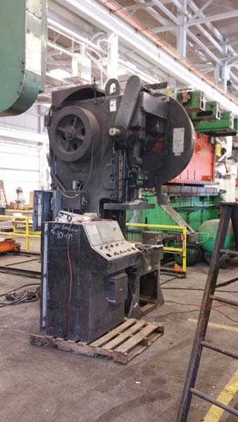 75 TON MINSTER GAP FRAME PRESS