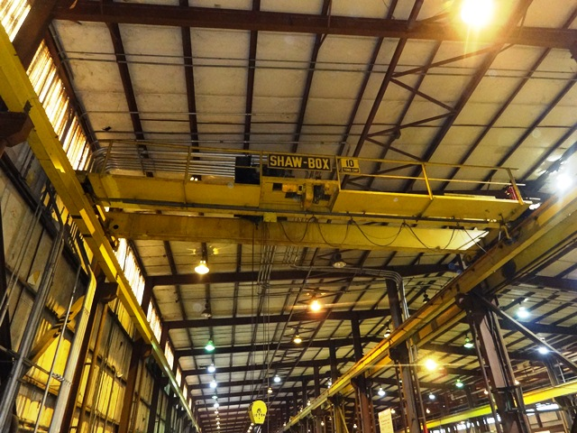 10 Ton Shaw Box Bridge Crane