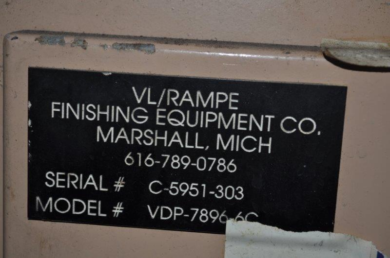 "72"" RAMPE TABLE TYPE WASHER"