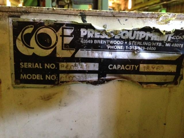 """6,000 LB x 18"""" COE COIL CRADLE"""
