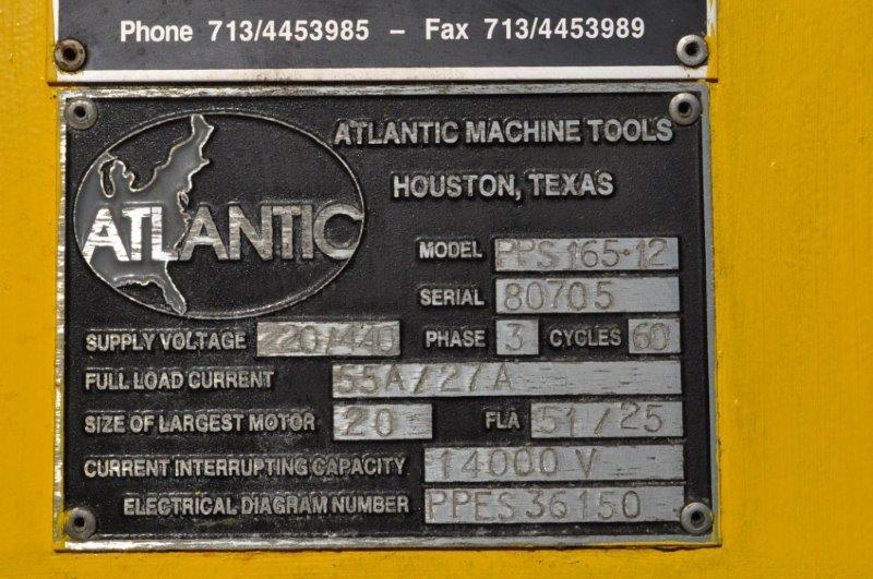 165 TON HACO ATLANTIC HYDRAULIC PRESS BRAKE