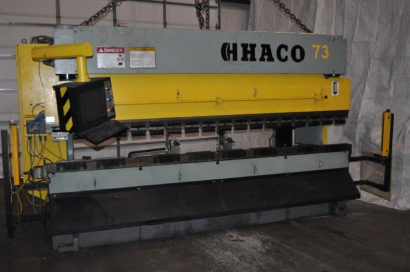 165 TON HACO ATLANTIC HYDRAULIC PRESS BRAKE