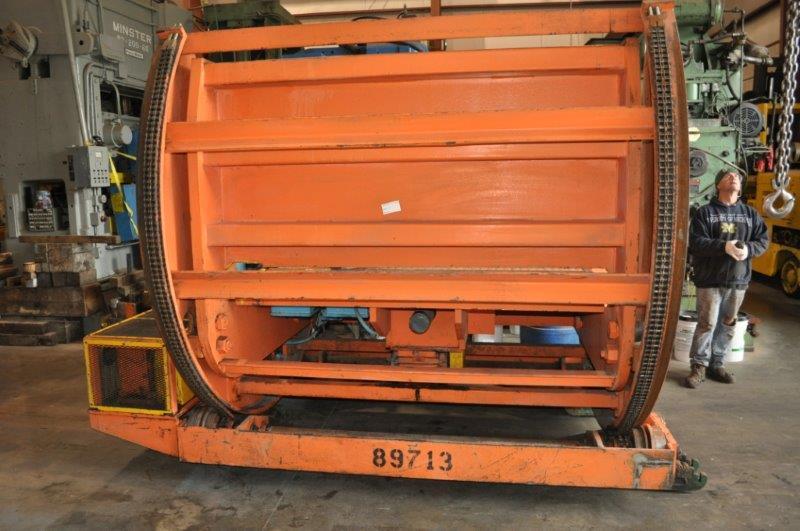 30,000 LB BRADBURY COIL TIPPER/COIL CAR
