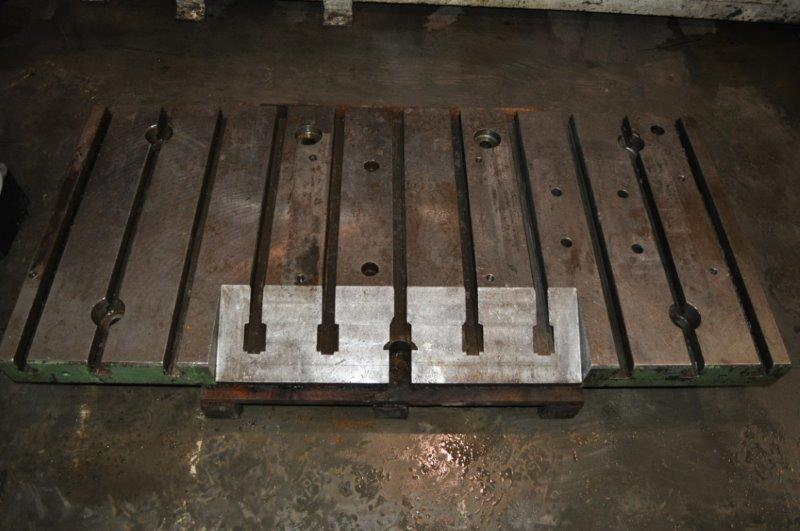 """64-1/2"""" x 30"""" x 4"""" T-SLOTTED BOLSTER PLATE"""