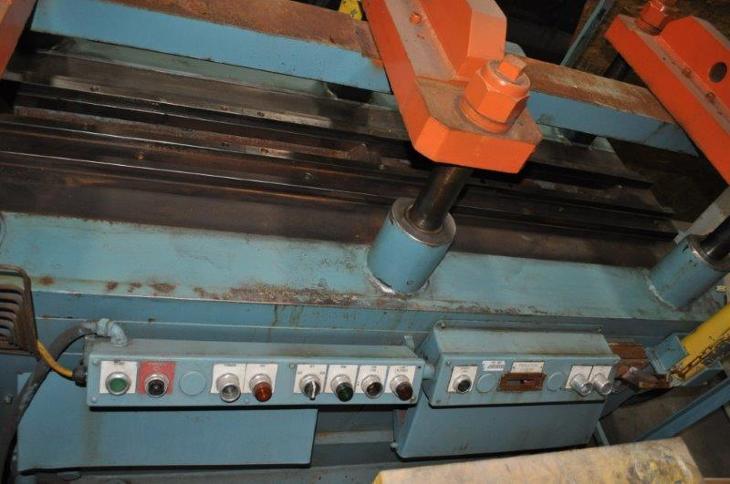 50 TON TISHKEN CUT OFF PRESS