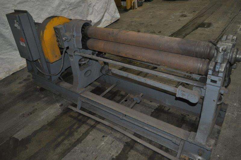 4' x 10 GA. HENDLEY & WHITTEMORE PLATE ROLL