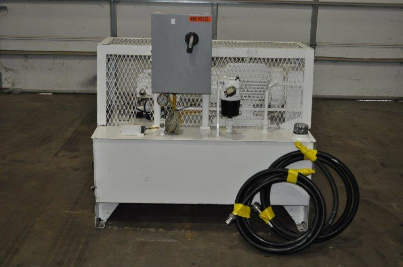15 HP PARKER HANNIFIN HYDRAULIC UNIT