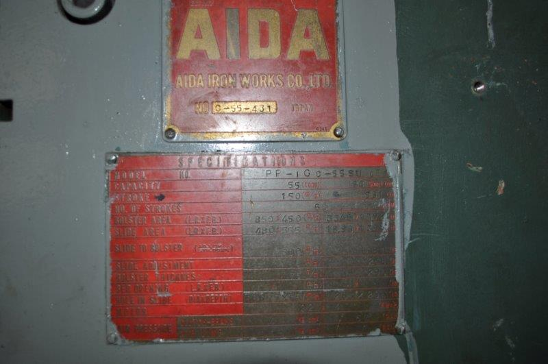 66 TON AIDA GAP PRESS