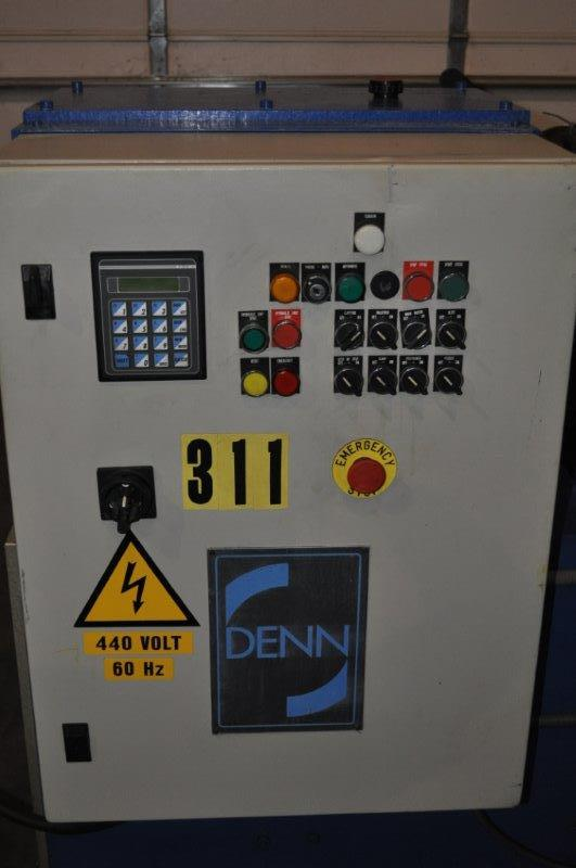 DENN CLL-350 BEADING AND TRIMMING MACHINE