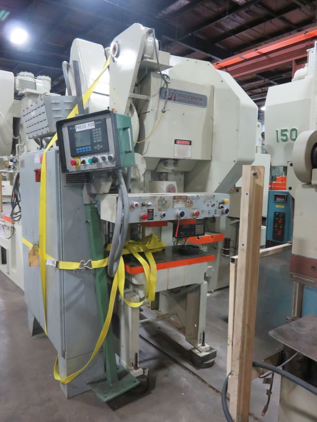 45 TON PRECISION INDUSTRIES OBI PRESS