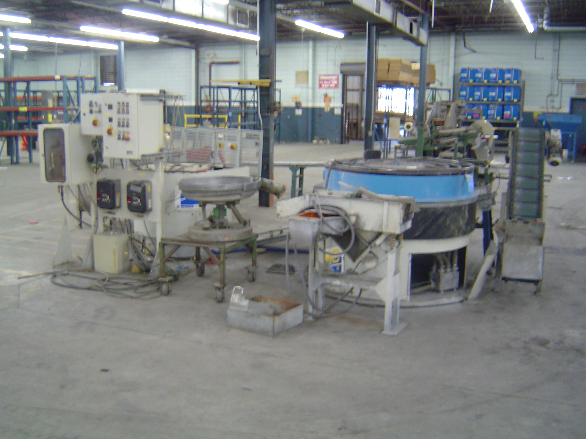 WALTHER TROWAL CONTINUOUS FINISHING & WASHING SYSTEM