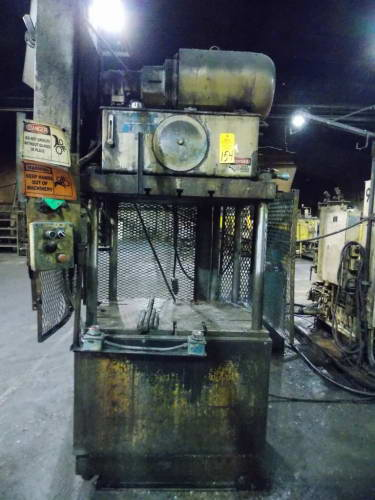 35 TON KEYSTONE 4 POST UP-ACTING HYDRAULIC TRIM PRESS
