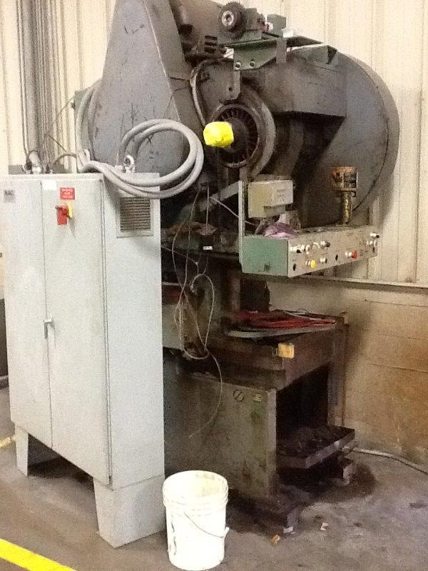 45 TON FEDERAL OBI PRESS