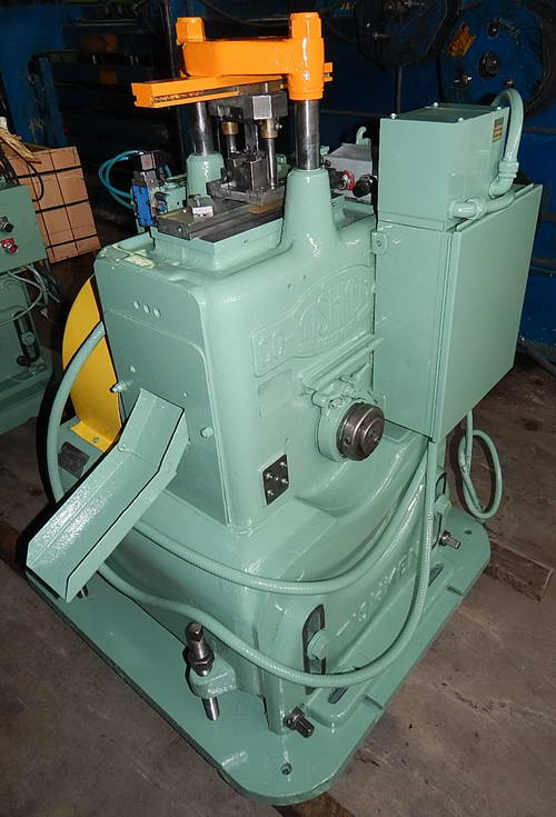 12 TON TISHKEN CUT OFF PRESS
