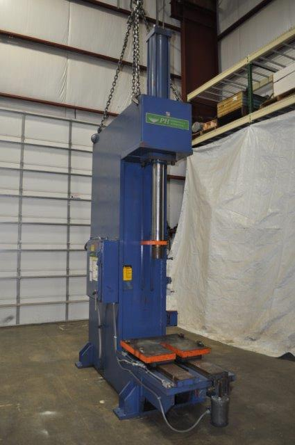 50 TON P & H HYDRAULIC PRESS