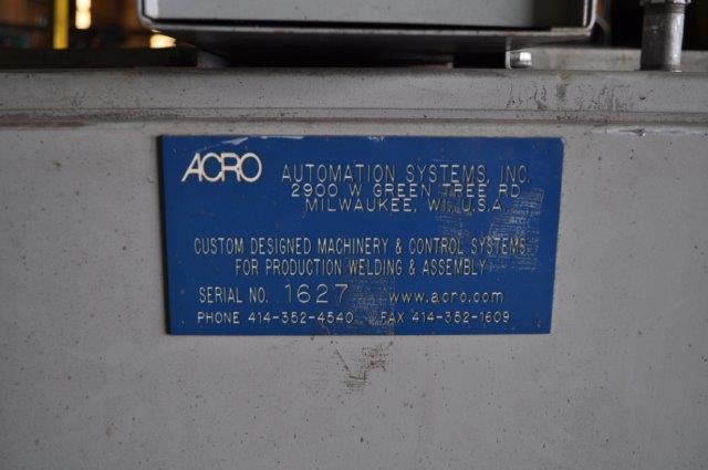 ARCWORLD YASKAWA MOTOMAN ROBOTIC SPOTWELDING CELL