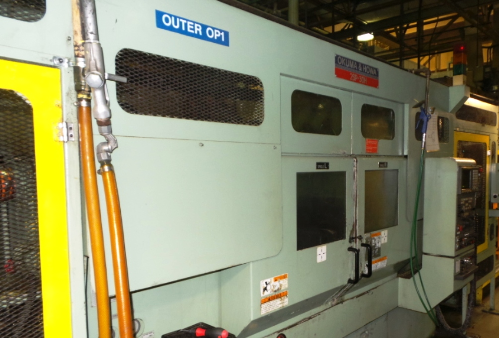OKUMA HOWA  2SP-3H TWIN SPINDLE CNC LATHE