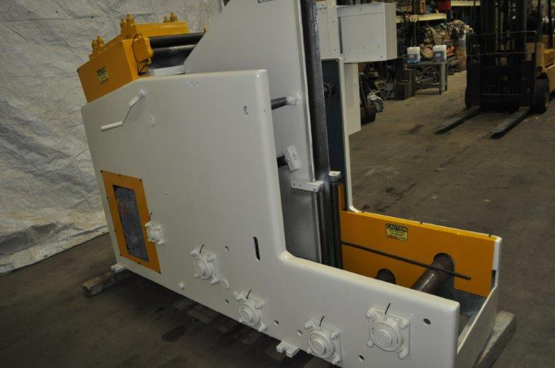 """8000 x 12"""" x .078"""" COOPER WEYMOUTH PETERSON COIL CRADLE STAIGHTENER"""
