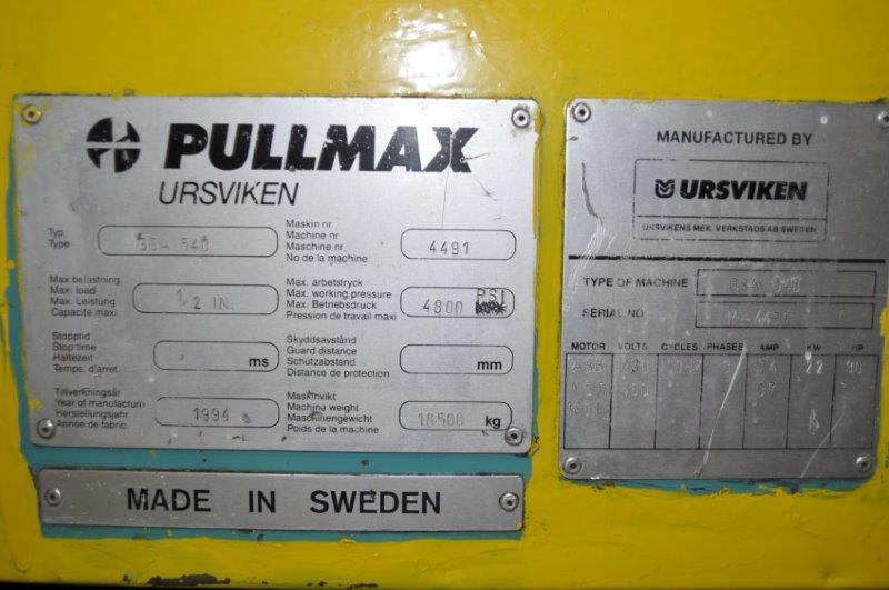 """13' x 1/2"""" PULLMAX HYDRAULIC SHEAR"""